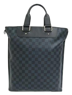 Louis Vuitton Shopping Tote in Damier Cobalt (Guaranteed Authentic)