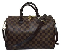 Louis Vuitton Cross Body Tote Monogram Neverfull Satchel in Brown