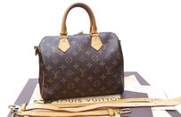 Louis Vuitton Speedy 25 Cross Body Bag