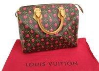 Louis Vuitton Speedy 25 Tote in Monogram Cherry