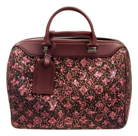 Louis Vuitton Speedy Sunshine Express Burgundy Sequin Monogram Limited Edition 3FM9G