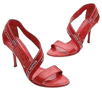 Louis Vuitton Patent Red Sandals