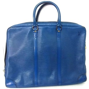 Louis Vuitton Epi Leather Tote in Blue