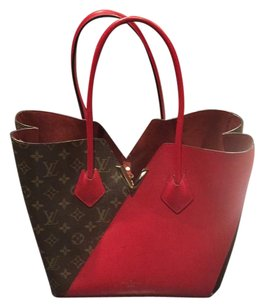 Louis Vuitton Tote in monogram/ brown/red