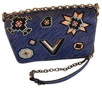 Louis Vuitton Twist Lv Blue Summer 2016 Shoulder Bag
