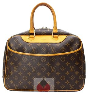 Louis Vuitton Vutton Brown (Guaranteed Authentic) Travel Bag
