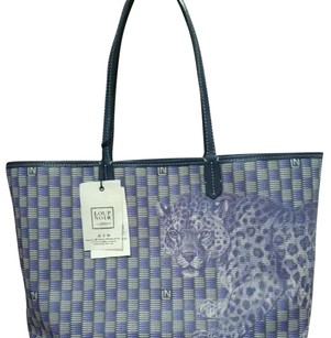 Loup Noir Tote in Blue