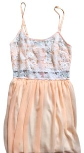 Love Culture short dress Peach on Tradesy