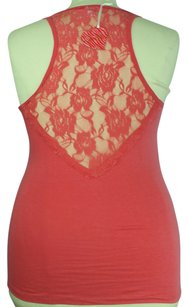Love Nation Plus Size Fashion Top Coral