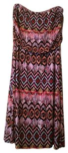 Loveappella Maxi Maxi Fold Over Maxi Skirt Pink