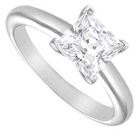 LoveBrightJewelry Cubic Zirconia Solitaire Ring Sterling Silver 2.00 CT Cubic Zirconia