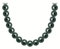 LoveBrightJewelry Freshwater Cultured Pearl Necklace 14K White Gold 6 MM