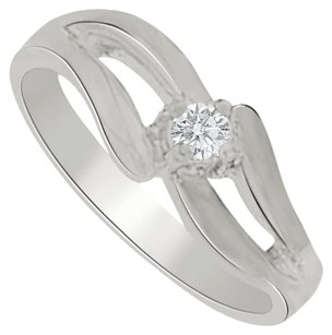 LoveBrightJewelry Precious and Pretty Diamond Mother Ring in Sterling Silver Gorgeous Design Affordable Price
