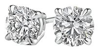 LoveBrightJewelry Special Offer for Sparkling Diamond Studs in White Gold