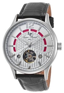 Lucien Piccard Lucien Piccard 15038-02S Men's Transway Automatic Black Genuine Leather