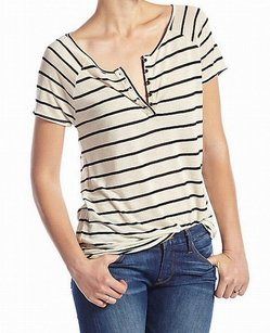 Lucky Brand 7w61979 Knit Linen Blends Top