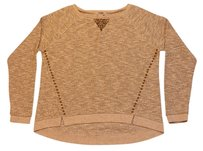 Lucky Brand Studded Hi Lo Knit Sweater