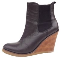 Lucky Brand Wedge Black Boots