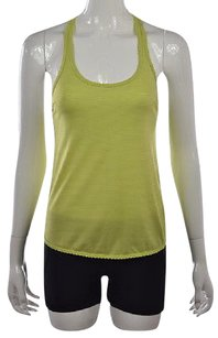 Lululemon Womens Yellow Green Top Multi-Color