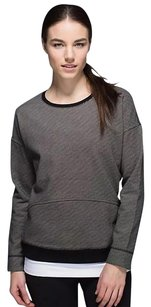 Lululemon Keep up crew crewneck striped Sweatshirt