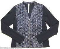 Lululemon Lululemon Cardigan Again Jacket Exploded Sashiko Star Inkwell Ghost Blue