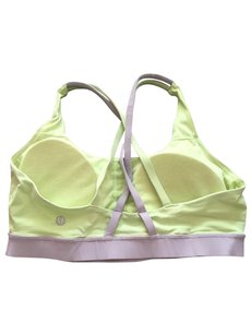 Lululemon Lululemon Energy Bra, Clear Mint, Silver Spoon, Size 8