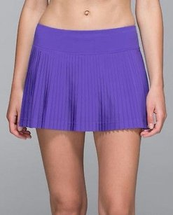 Lululemon Lululemon Pleat To Street Ii Tennis Skirt Wshorts Iris Flower Purple