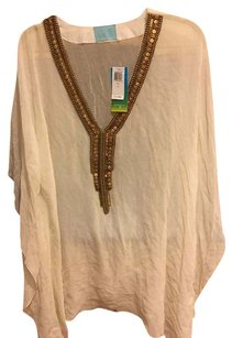 Luxe by Lisa Vogel Luxe by Lisa Vogel Coverup One Size $305 NWT Ivory