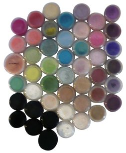 MAC Cosmetics Forty-Seven (47) Total Pigment and Eyeshadow Samples/Decants AUTHENTIC