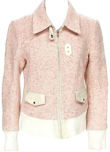 Mackage Tweed Leather Pink Jacket