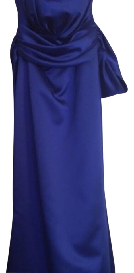 Mackenzie Michaels blue formal/bridal/prom long dress