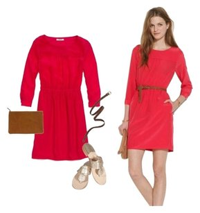 Madewell short dress Vibrant Pink on Tradesy