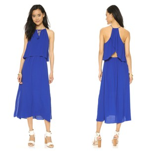 Royal Cobalt Blue Maxi Dress by Madewell Maxi Chic Comfortable