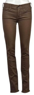 Madewell Womens Beige Taupe 26x32 Colored Pants Trousers Straight Leg Jeans