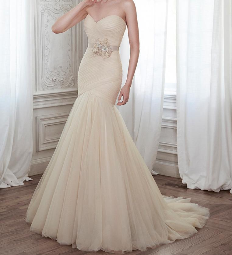 Wedding Gown Sale Online: Maggie Sottero 5mz134 Wedding Dress On Sale, 49% Off