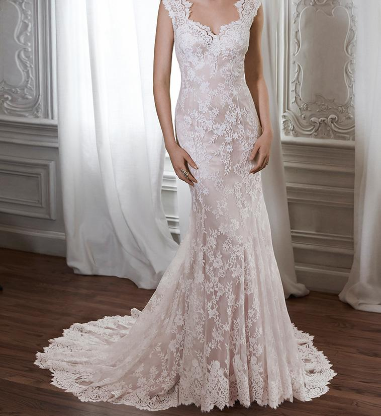 Wedding Gown Sale Online: Maggie Sottero Londyn M5mco13 Wedding Dress On Sale, 50