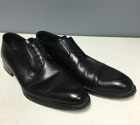 Magnanni For Neiman Marcus Black Leather Classic Oxford Dress Shoe B2129