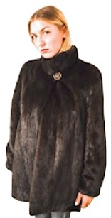 Mahogany Mink Fur New Fur Coat