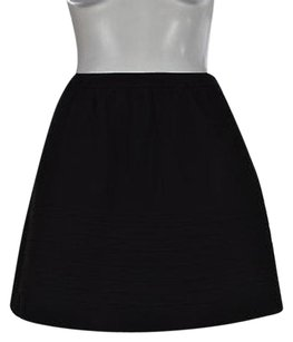 Maje Womens A Line Skirt Black