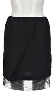 Maje Straight Skirt Black