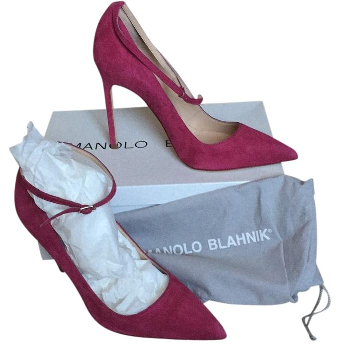 Manolo Blahnik New ankle strap pumps 38