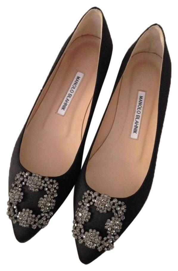 b99d181e4ddc ... coupon code for manolo blahnik jewel embellishment elegant satin padded  insole made in italy almond toe