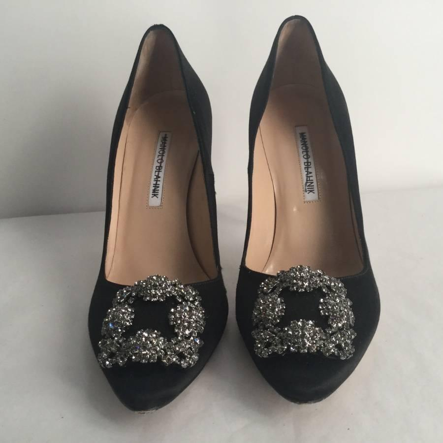 f8fc9af8483 Man Woman:Manolo Man Woman:Manolo Man Woman:Manolo Blahnik Black ...