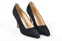 Manolo Blahnik Vintage Black Pumps