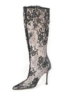Manolo Blahnik Womens Multi-Color Boots