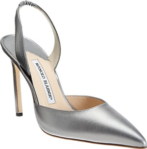 Manolo Blahnik Gunmetal Pumps