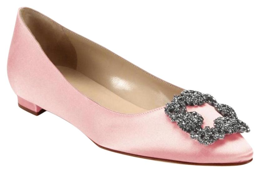 ad2287304587 ... discount womens pink manolo blahnik shoes up to 90 off at tradesy 66a41  f8aef