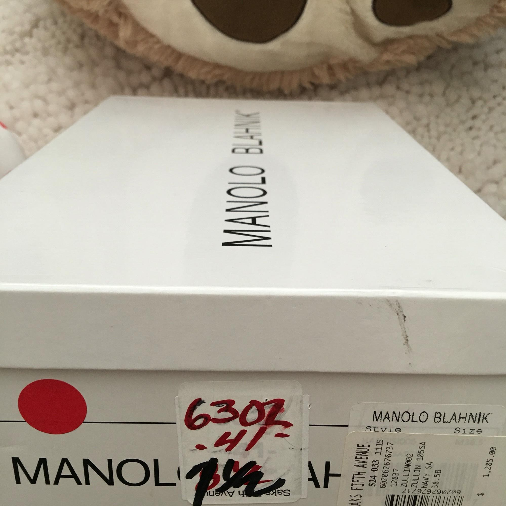 manolo manolo manolo blahnik Rouge  mb pompes a7f3a8