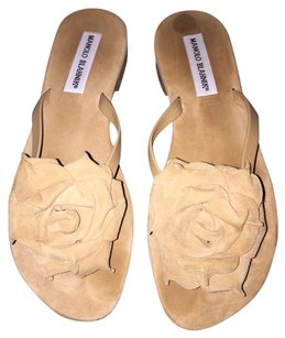 Manolo Blahnik Tan/Camel Sandals