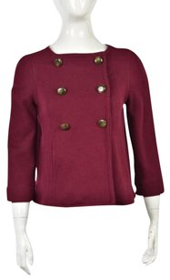 Marc by Marc Jacobs Womens Maroon Jacket